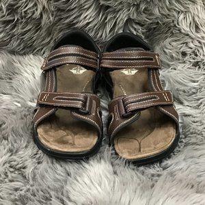 Dockers   Men's Sandals   Size 9   Brown